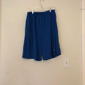 Nike dri-fit blue men's shorts size xl